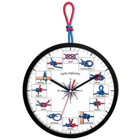 Zegar ścienny dla dzieci żeglarski ATE2013WZ_2BLSW